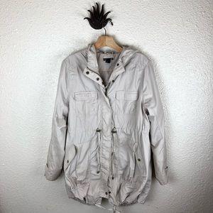 5bedfc69e6449 H&M Jackets & Coats   Hm Mama Light Khaki Maternity Trench Parka ...